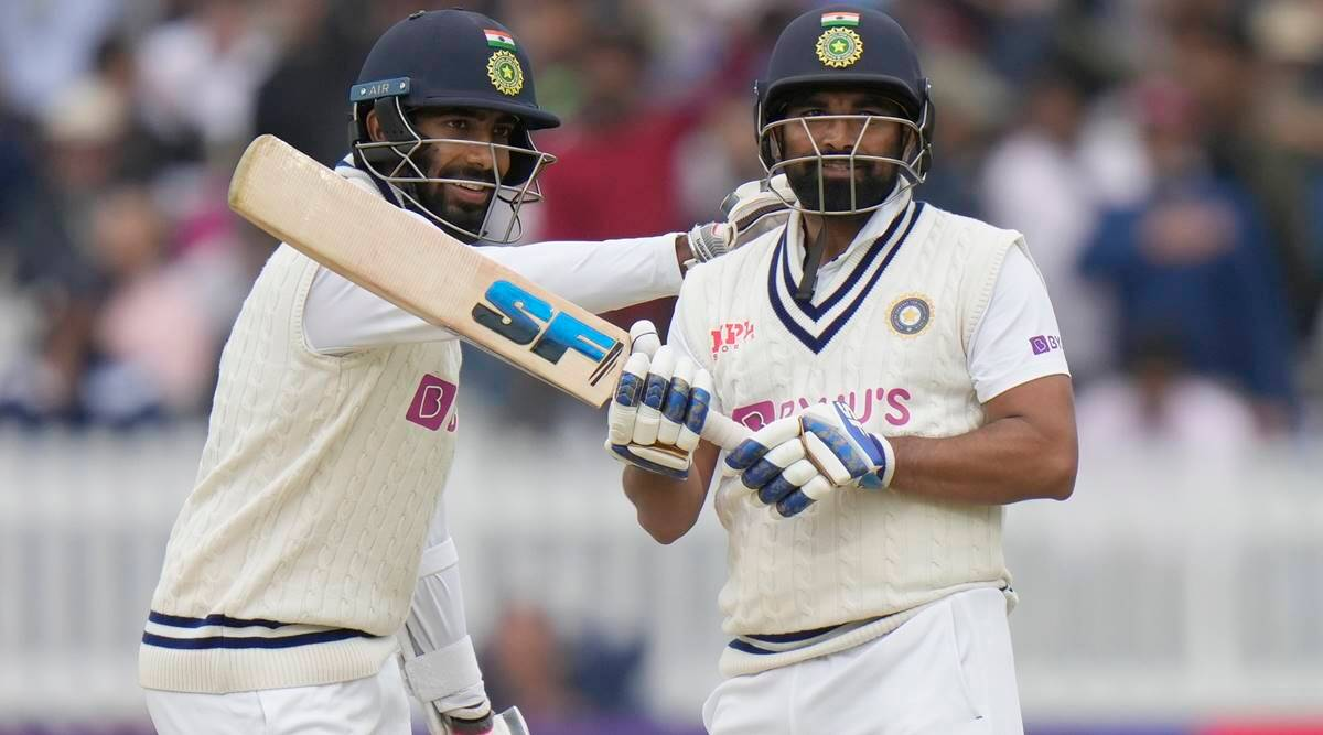 Never back down: Bumrah-Shami fight fire with fire to lead India's spirited  fightback at Lord's | Sports News,The Indian Express