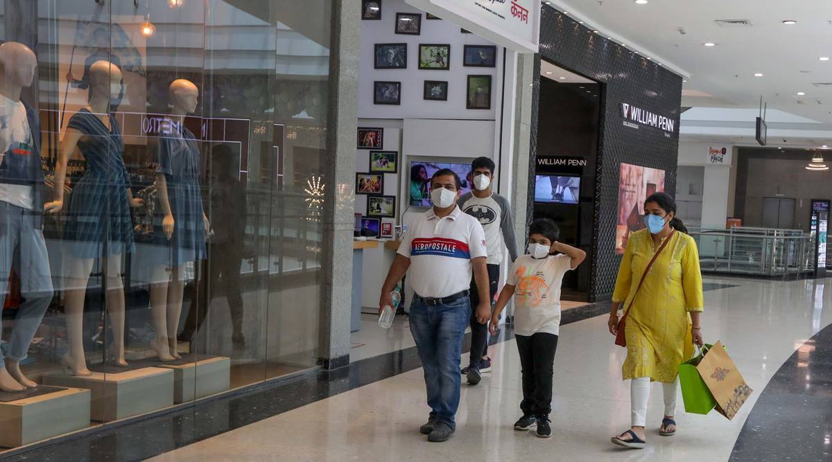 mumbai malls open covid news