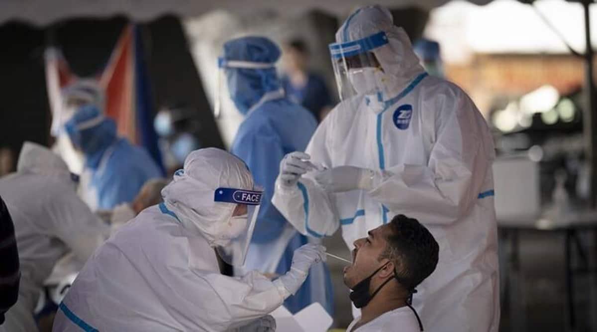 Punjab covid update, punjab coronavirus cases, punjab corona cases today, chandigarh covid cases, coronavirus cases in punjab today, indian express news, Covid, R value, Indian Express