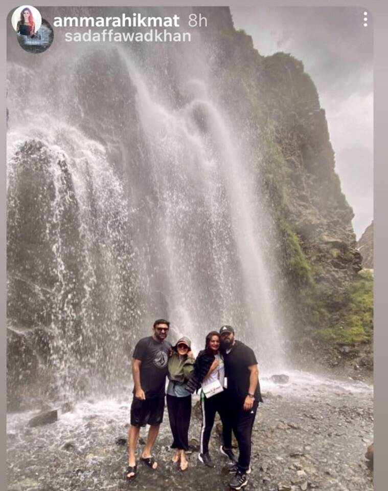 fawad khan vacation