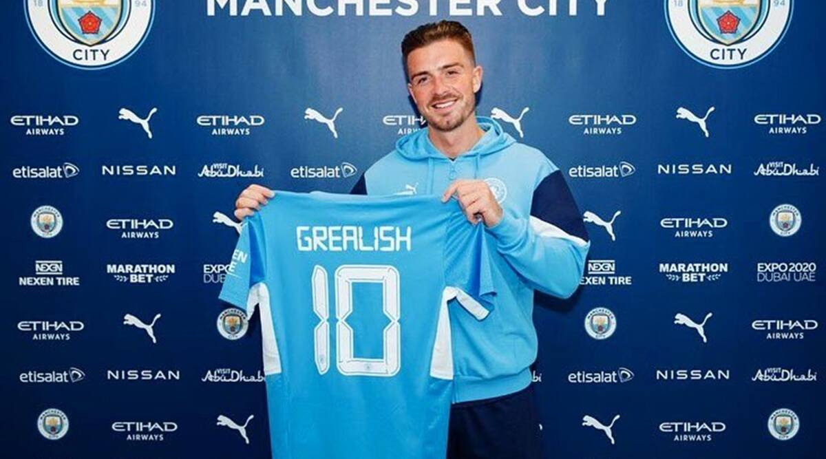Manchester City sign Jack Grealish from Aston Villa on six-year deal    Sports News,The Indian Express