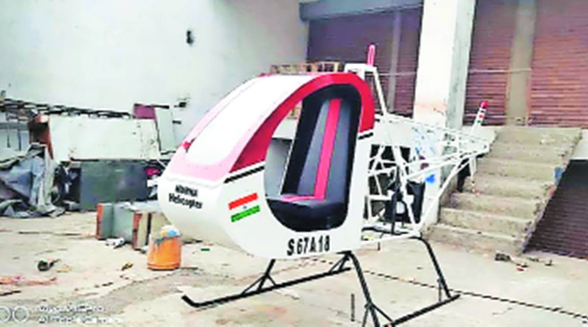 On trial run of helicopter he built, man known as 'Yavatmal's Rancho' dies in rotor blade mishap