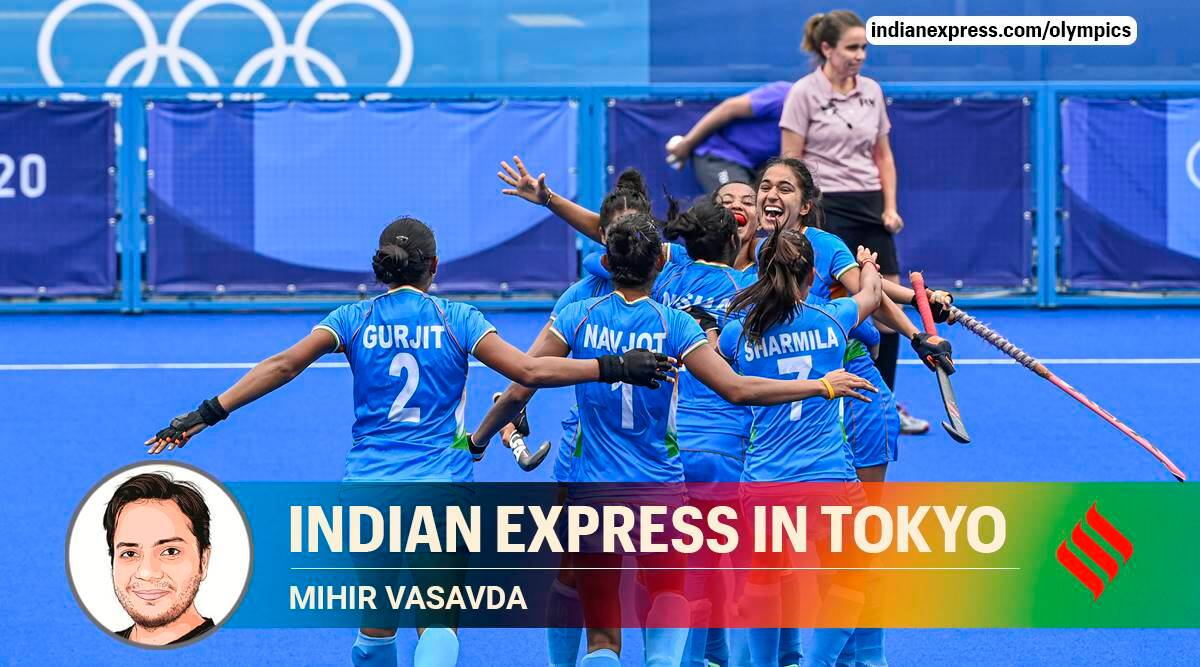India vs australia women hockey olympics, india vs australia hockey tokyo olympics, india women hockey quarter finals, rani rampal emotional, india women hockey celebration