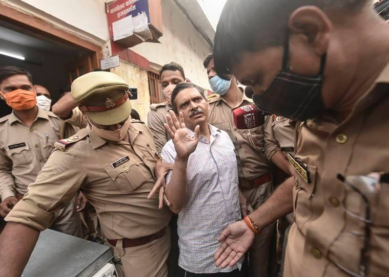 UP ex-IPS officer arrested for 'abetting' suicide of Ballia woman, her friend