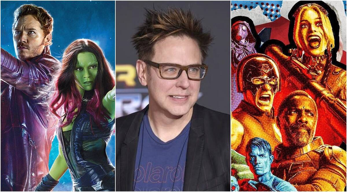 the suicide squad guardians of the galaxy james gunn