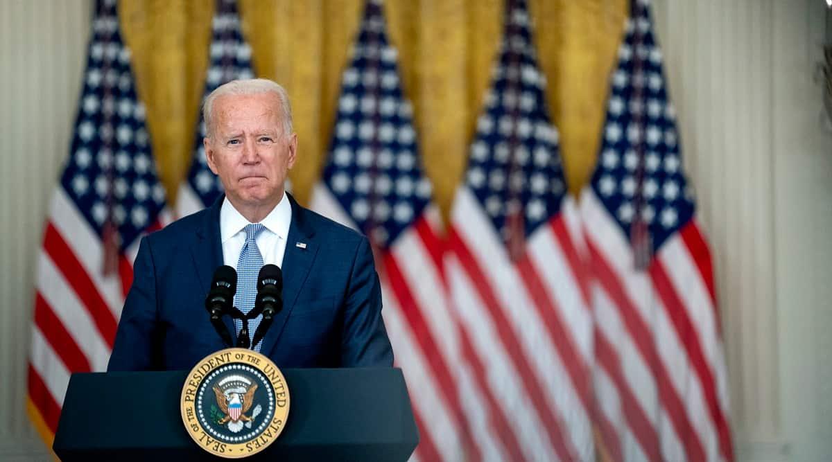 Joe Biden, Biden's remarks on Afghanistan, Biden on Taliban, US on Afghan-Taliban, Afghanistan crisis, world news, indian express