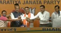 Days after resigning as Manipur Congress chief, Govindas Konthoujam joins BJP