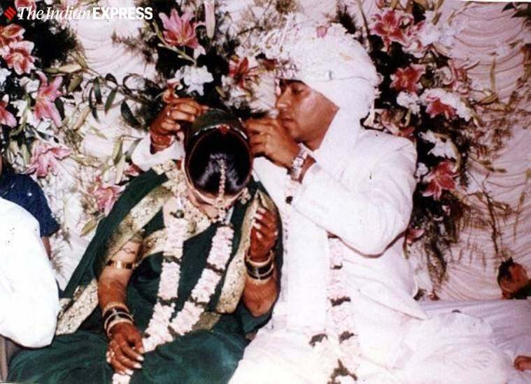 Kajol and Ajay Devgn's wedding photos