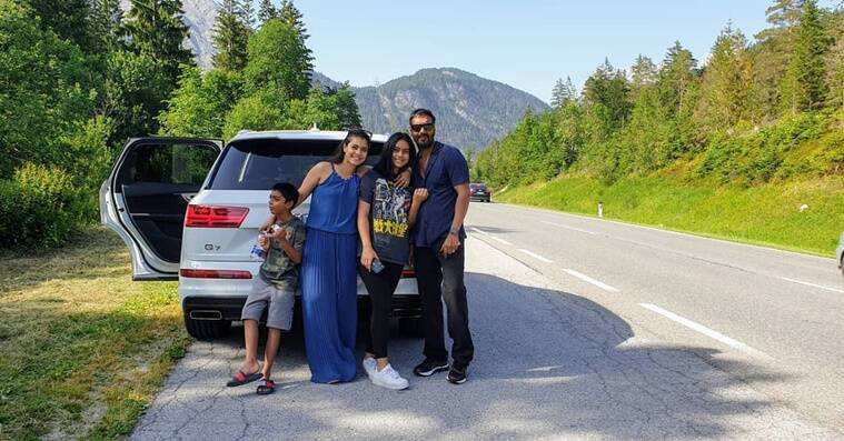 ajay, kajol family