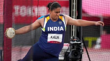 Kamalpreet Kaur, Kamalpreet Kaur tokyo olympics, kamalpreet kaur olympic best, kamalpreet kaur record throw, kamalpreet kaur sixth position