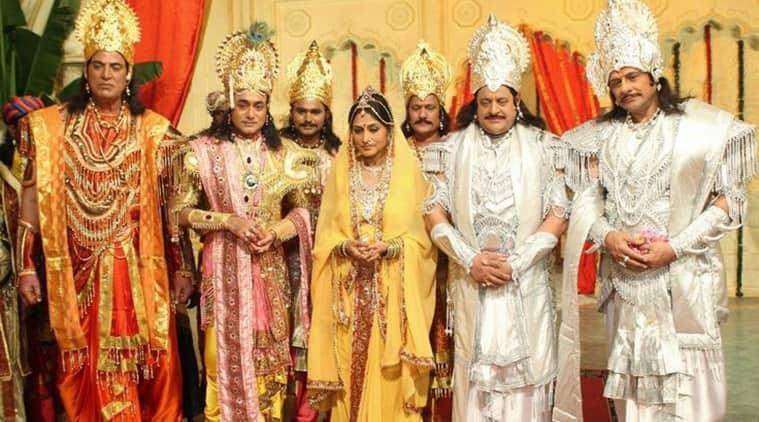 mahabharat stills doordarshan