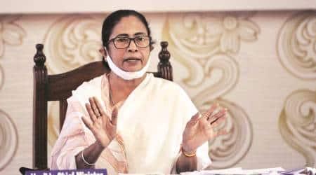 Mamata Banerjee, west bengal CM, capf exam, upsc, bjp party office, West Bengal, Tmc, Indian express, indian express news