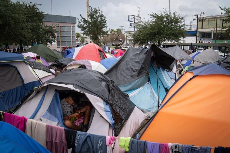 Mexico border camps
