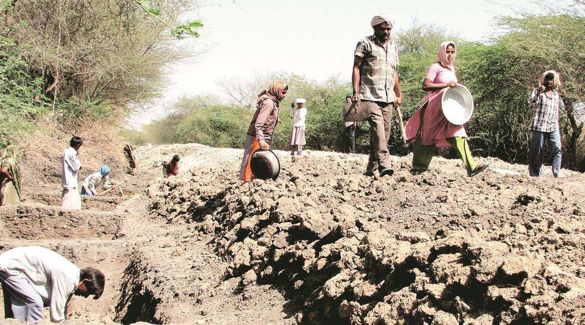 Maharashtra: Amount of work generated under MGNREGS dropped during second wave