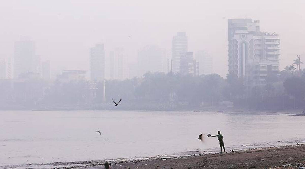BMC, AQI, air quality monitoring stations mumbai, ghatkopar east, System of Air Quality Weather Forecasting and Research, Maharashtra Pollution, mumbai pollution, indian express, indian express news