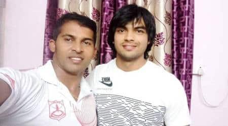 Kashinath Naik, Neeraj Chopra coach