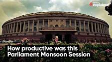How Productive Was This Parliament's Monsoon Session?