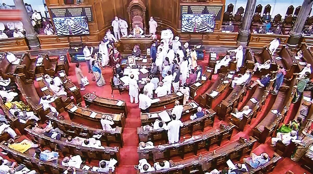 Amid Opposition protests, Rajya Sabha clears Inland Vessels Bill