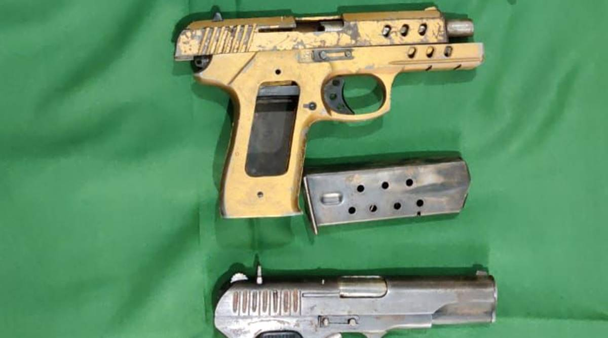 Notorious gangster arrested, four pistols recovered after joint operation by Moga police, BSF