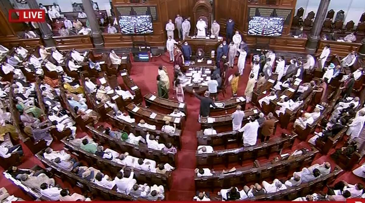 parliament monsoon session, parliament monsoon session disruption, money spend on parliament session, lok sabha sessions, rajya sabha sessions, parliament session performance, indian express