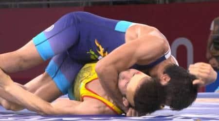 Ravi Dahiya, Ravi Dahiya injury, Ravi Dahiya bite mark, Ravi Dahiya vs Nurislam Sanayev, ravi dahiya tokyo olympics