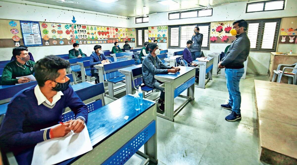 Schools reopen in Noida for classes 9-12, student turnout low on day 1