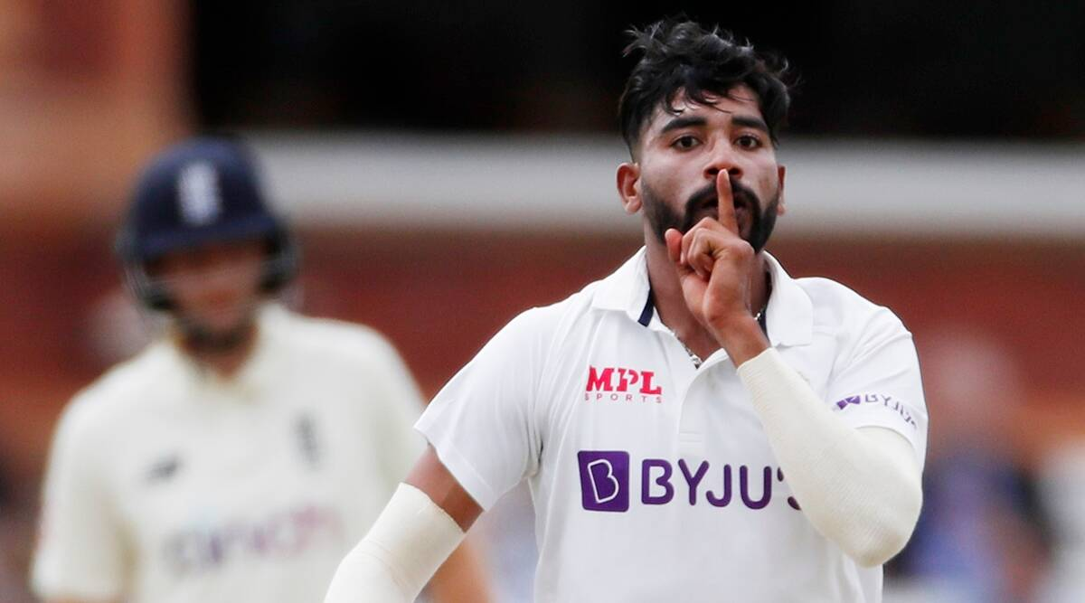 My finger on lips celebration is for haters: Mohammed Siraj | Sports  News,The Indian Express