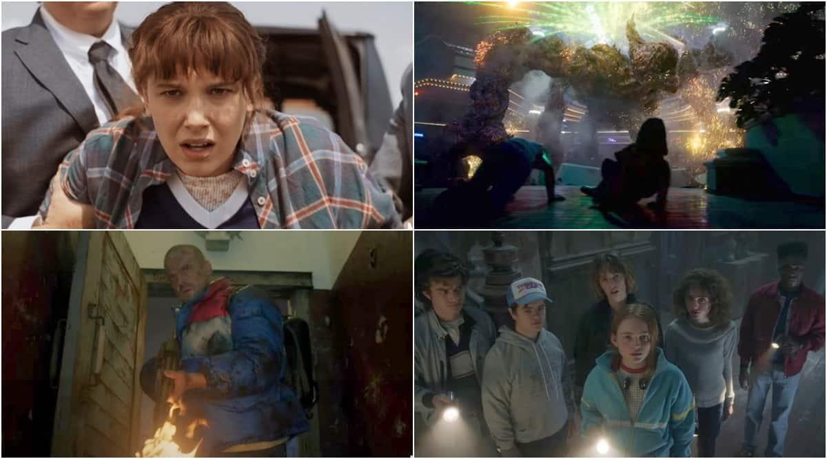 stranger things 4 video teaser spot