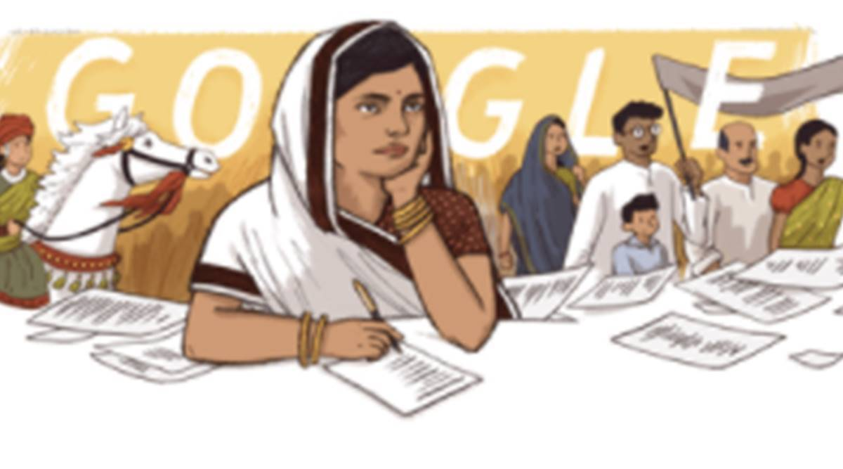 Google honors Subhadra Kumari on her 117th birthday with a doodle
