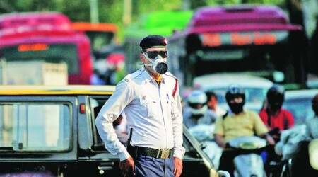UT traffic police, Traffic restrictions, idependence day, 15 august, traffic police, chandigarh Parade Ground, indian express, indian express news