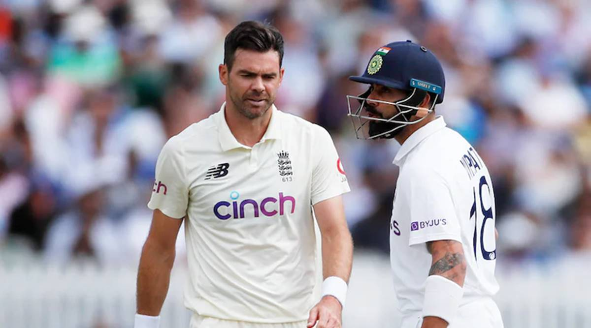 This isn't your backyard': Virat Kohli and James Anderson engage in verbal  volleys | Sports News,The Indian Express