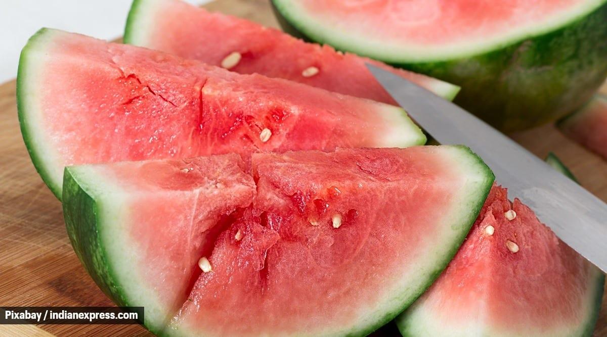 watermelon banana sorbet