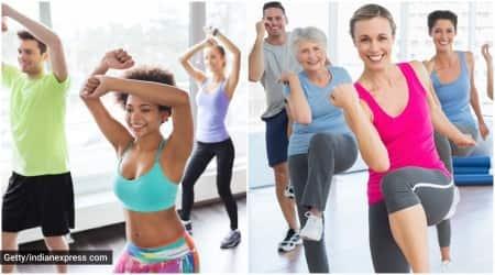 zumba vs aerobics, zumba benefits, aerobics benefits, indianexpress.com, indianexpress, how to do zumba, how to do aerobics,