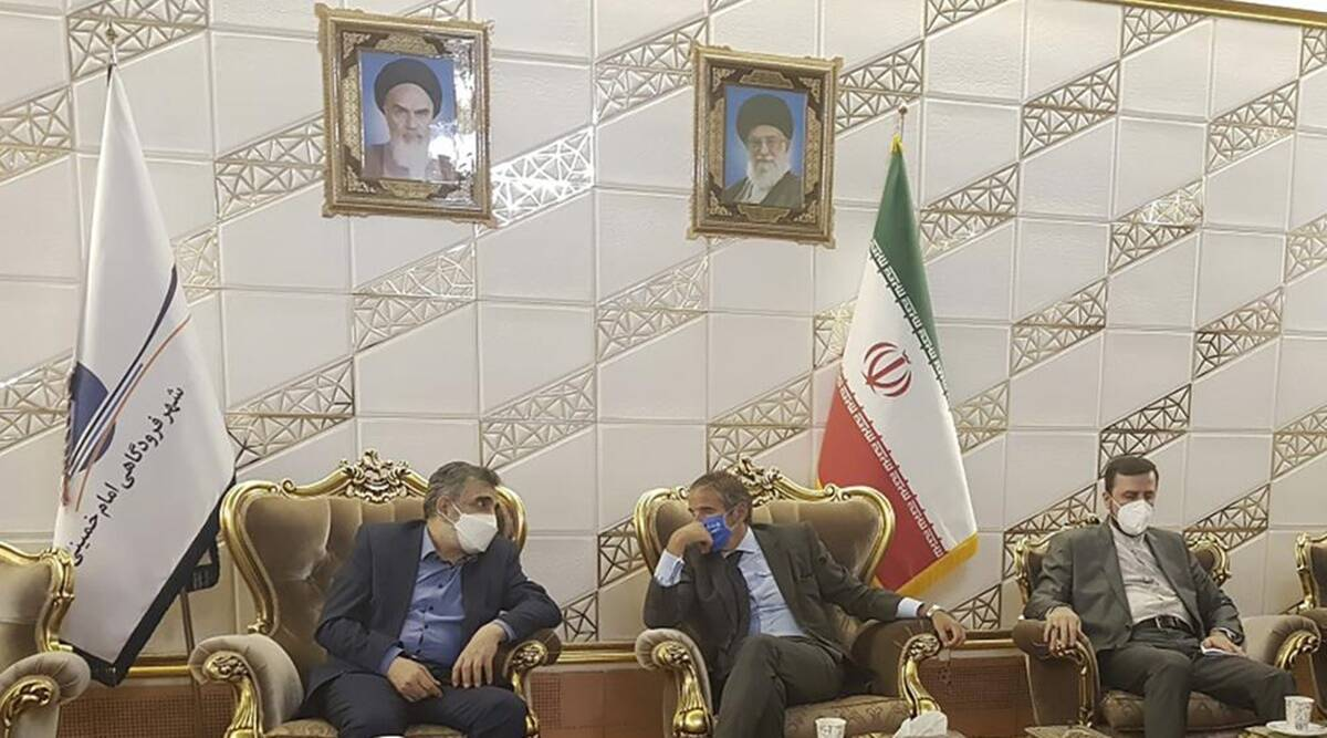 Iran, UN, UN nuclear site cameras, United nations, Nuclear sites in Iran, International Atomic Energy Agency, US Iran Nuclear deal, Tehran, Vienna, indian express, indian express news, current affairs, world news