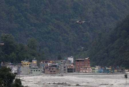 Flash floods inundate over 380 houses in Nepal