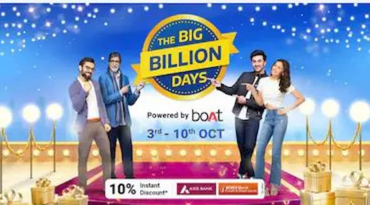 Flipkart, Flipkart Big Billion Days, Big Billion Days sale, Big Billion Days date, Flipkart vs Amazon sale, Big Billion Days 2021, Amazon, Great Indian Festival sale, flipkart big billion days sale date