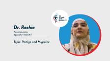 Dr Roohia – Vertigo and Migraine