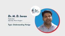 Dr MD Imran – Understanding Vertigo