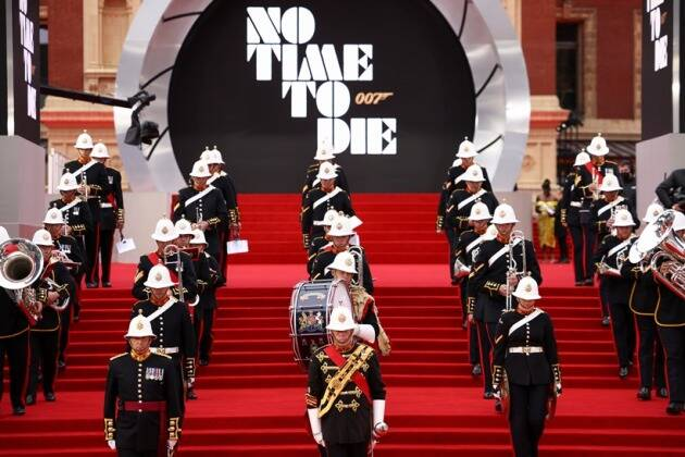 No Time To Die, James Bond, No Time To Die, No Time To Die world premiere, No Time To Die cast