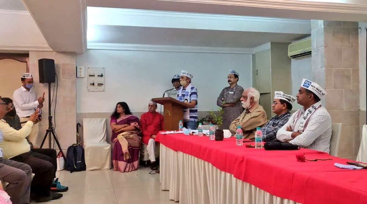 AAP, AAP Mumbai, AAP Gujarat, AAP Gujarati Wing, Indian Express, Mumbai news, Mumbai news, current affairs