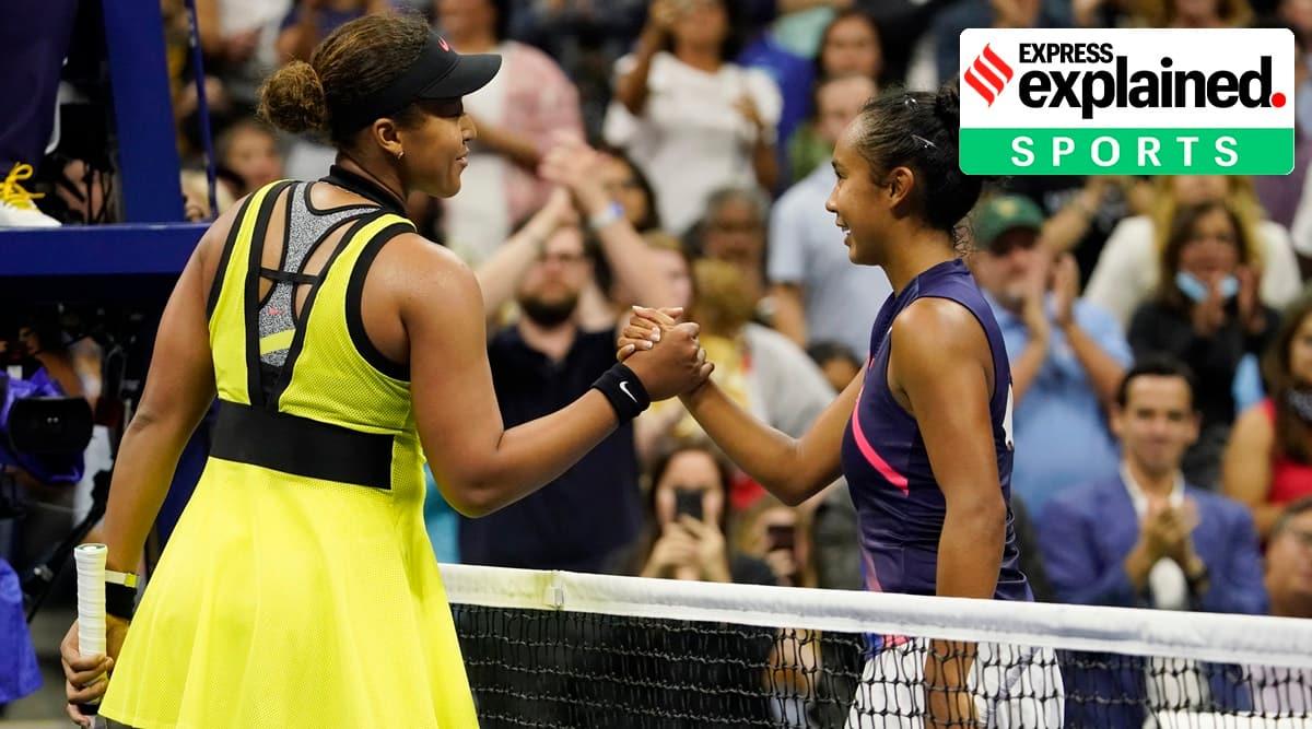 Naomi Osaka, Leylah Fernandez, US open 2021, Osaka US Open, Who is Leylah Fernandez, US Open news, Indian Express