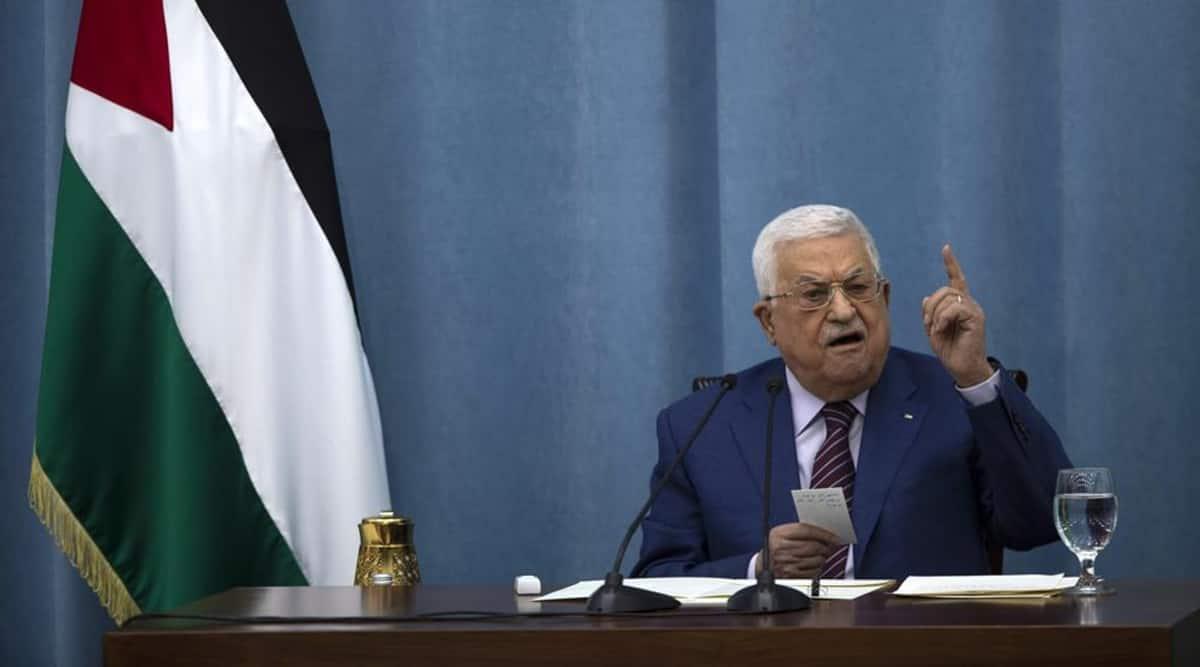 Palestinian President, Palestine, Mahmoud Abbas, Abbas, Palestinians, Gaza, Indian express, indian express news, world news, current affairs