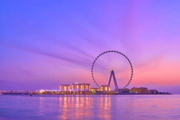 Ain Dubai, Ain Dubai news, world's largest and tallest observation wheel, Ain Dubai observation wheel, Ain Dubai features, Ain Dubai photos, Ain Dubai visitors, Ain Dubai tickets, indian express news