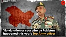 'No Violation Or Ceasefire By Pakistan Happened This Year': Top Army Officer