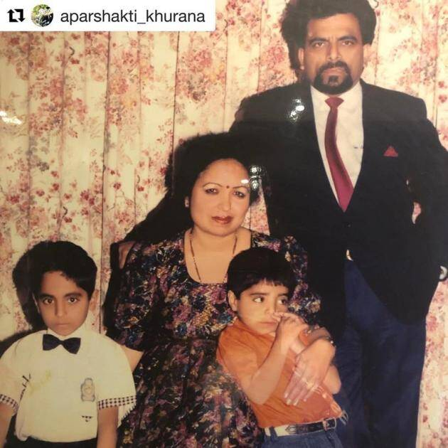 Ayushmann family paretns