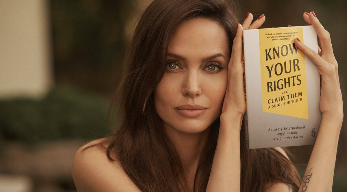 Angelina Jolie, Angelina Jolie book, Angelina Jolie Instagram, Angelina Jolie Know Your Rights and Claim Them