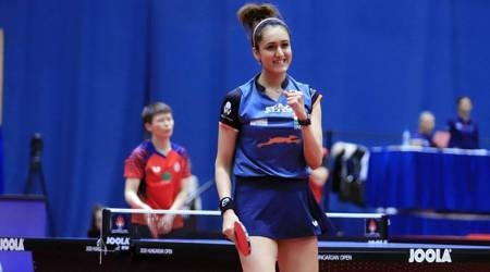 Manika Batra, table tennis