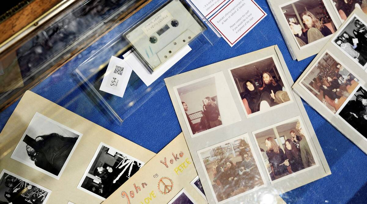 John Lennon, John Lennon recording auction, John Lennon yoko ono
