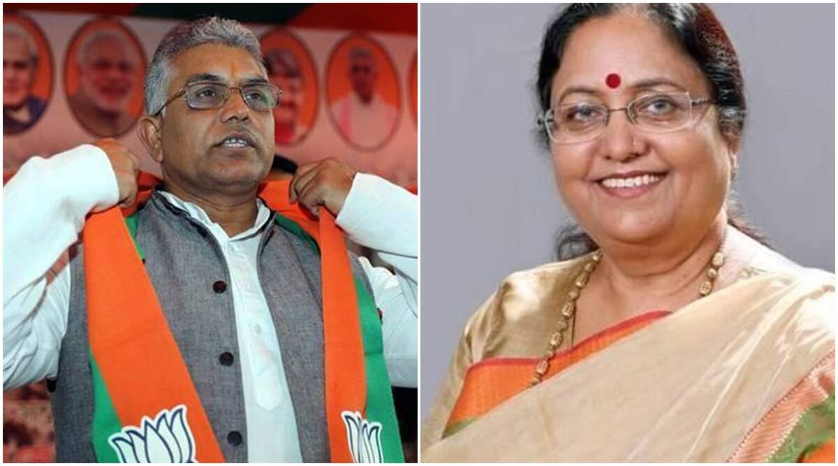 BJP picks Baby Rani Maurya, Dilip Ghosh as party vice-presidents - The Indian Express