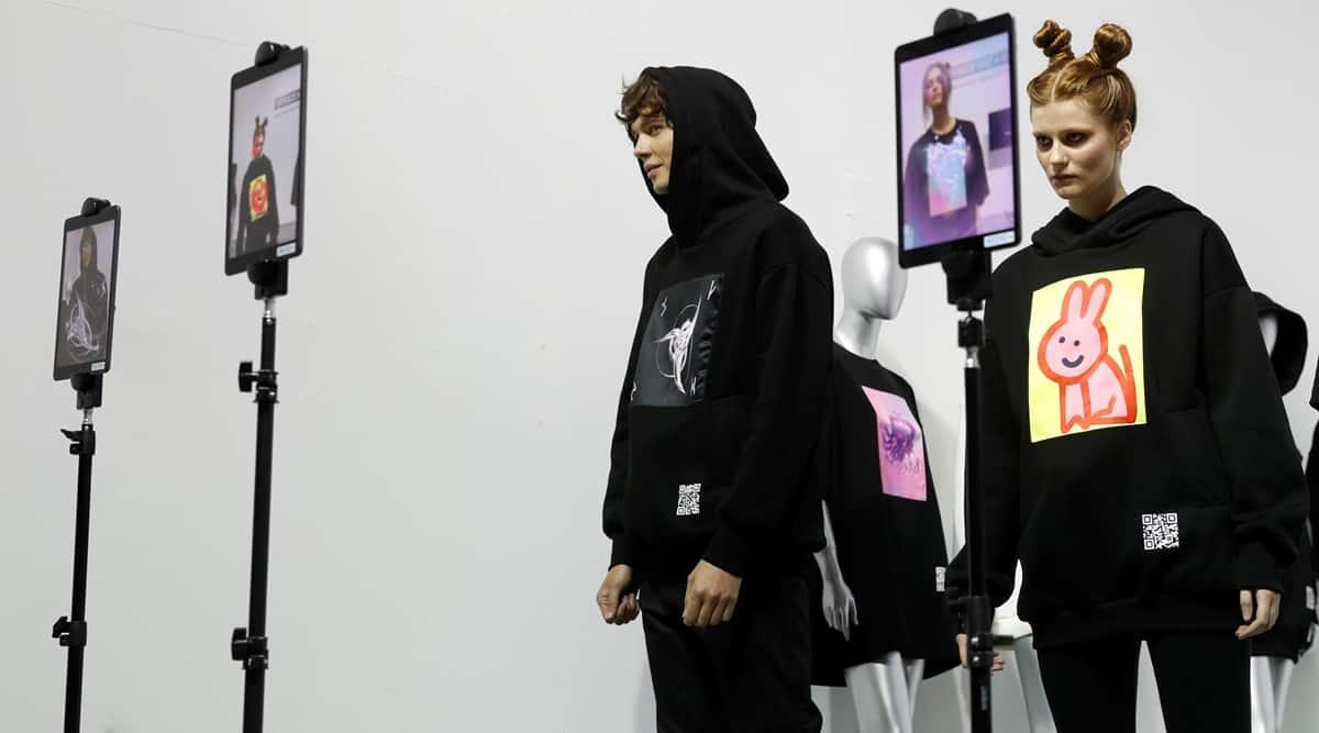 Augmented reality, Augmented reality fashion, Augmented reality Ukraine fashion